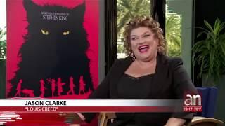 Download 3,2,1…¡Acción! Maria Salas entrevista Jason Clarke y Amy Seimetz de ″PET SEMETARTY″ Video