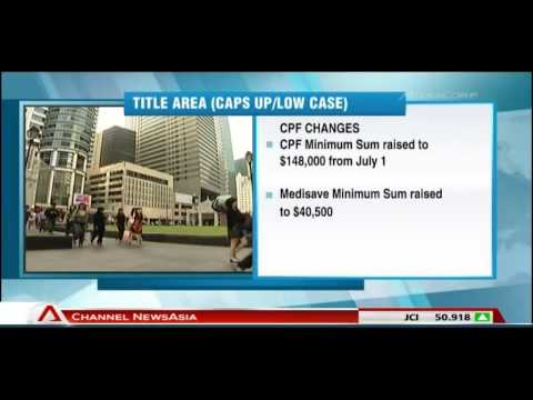 CPF & Medisave minimum sums, Medisave contribution ceiling to be raised - 08May2013