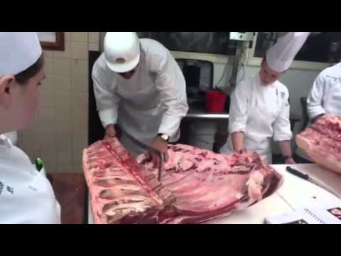 Fabrication of the Primal Beef Rib
