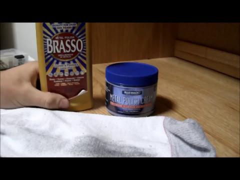 Brasso VS. Blue Magic (metal polish cream)