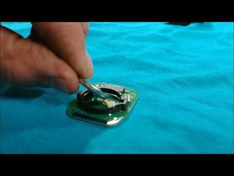 Chevy Silverado key fob battery replacement