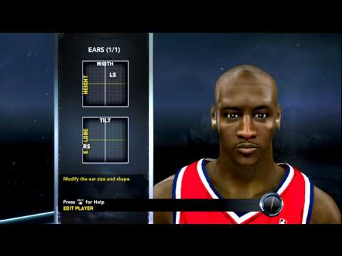 How to make Michael Jordan in NBA 2K12