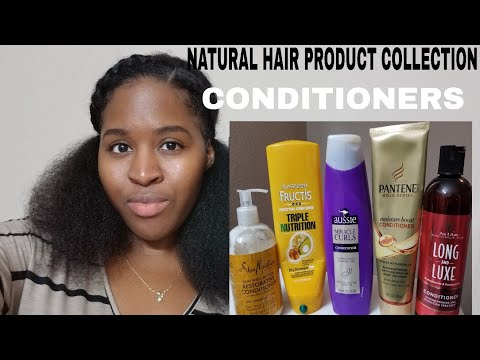 Natural Hair Conditioner Collection