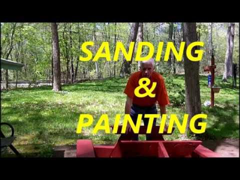 Sanding & Painting