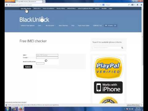 Iphone imei carrier check for free