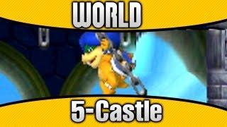 New Super Mario Bros 2 Walkthrough - World 5-Castle - Part