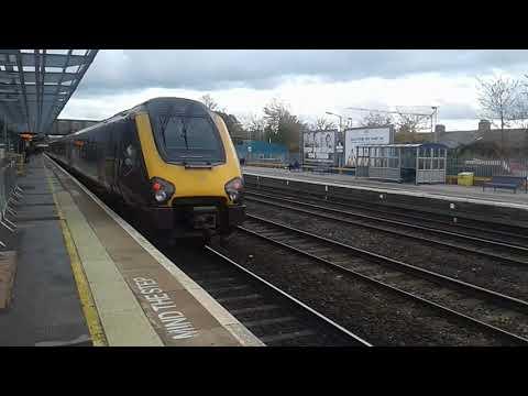 Trains at: Oxford, GWML/CML, 04/11/17