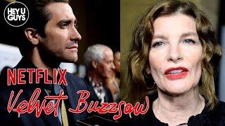 Velvet Buzzsaw Premiere - Rene Russo, Dan Gilroy & more on Netflix's Supernatural Horror Movie