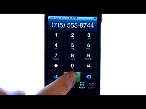 How Do I Place A Call On My Apple iPhone 4S?