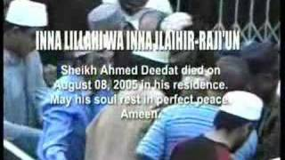 My Father Sheikh Ahmed Deedat - by Yousuf Deedat (6/7)