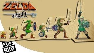 The Evolution of Graphics: Nintendo - The Legend of Zelda (Console Edition)