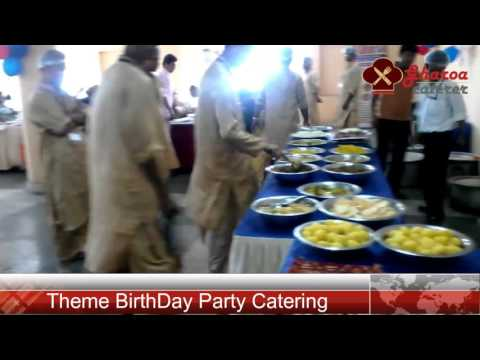 BirthDay catering Service Kolkata | Theme BirthDay Catering