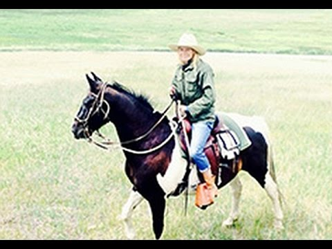 'Getting my cowgirl on!' Gwyneth Paltrow rides a horse as she heads to the mountains of Montana