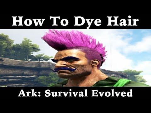 How To Dye Hair - Ark: Survival Evolved