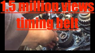How To Replace Timing Belt 97 02 Honda Accord