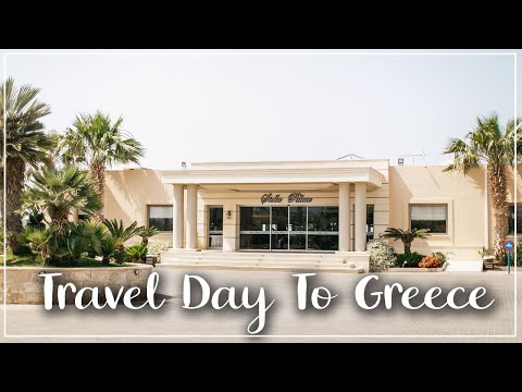 ARRIVING AT OUR WEDDING DESTINATION - WEDDING ABROAD - STELLA PALACE CRETE - HOLIDAY WITH KIDS