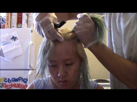 Various Methods to Remove Green Hair Dye from Blonde Hair