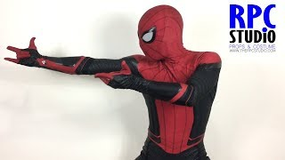 Download Spiderman Bros Unboxing Spiderman Far From Home Movie Quality suit (RPCPAINT version) Video