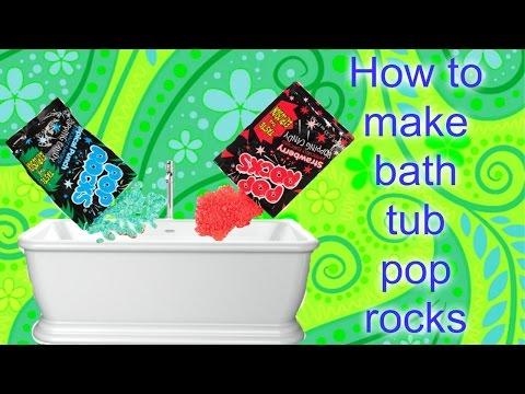 How  to make bathtub pop rocks-Awsome DIYS