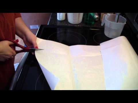 How to line a wood soap mold, Slab mold