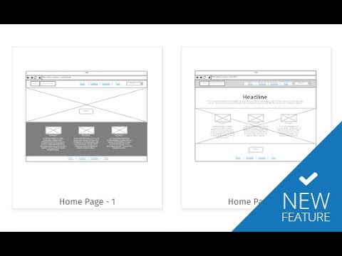 New Wireframing Tools in SmartDraw