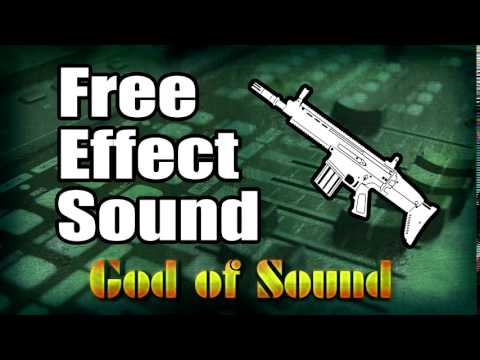 Pistol shooting sound effect
