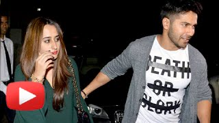 (Video) Varun Dhawan With Girlfriend Natasha Dalal On A Secret Dinner Date