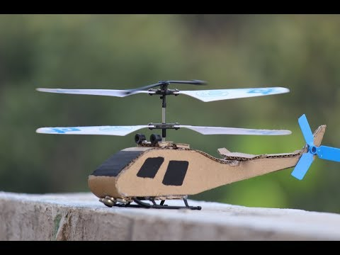 How to make a Cardboard Body Helicopter