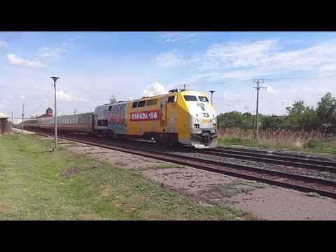 VIA Rail Train 635 [Montreal-Ottawa]