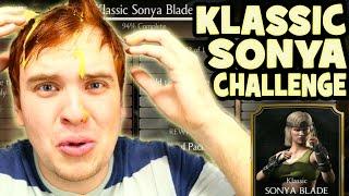 Mortal Kombat X Mobile. Klassic Sonya Challenge. Best battles and a little EGGCIDENT.
