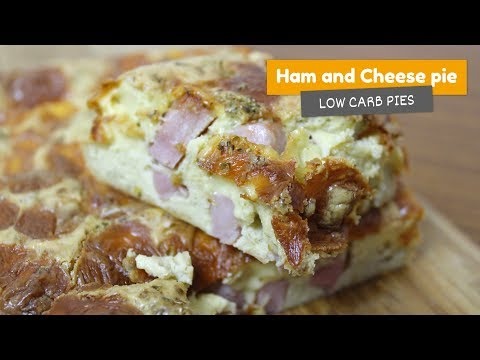 HAM and CHEESE PIE 🥧 • Low Carb Pies #4