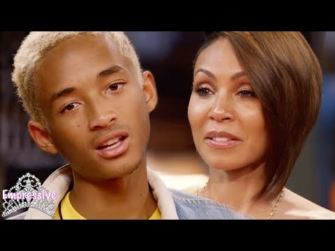 Jada Pinkett Smith let Jaden Smith move out the house at age 15. WHAT?!