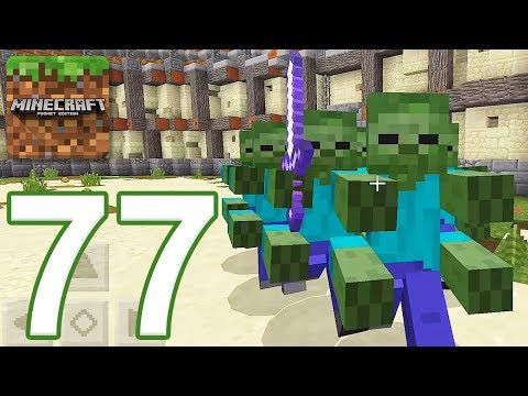Minecraft: PE - Gameplay Walkthrough Part 77 - The Monster Arena 2 (iOS, Android)