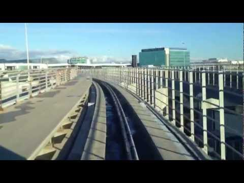 Train to main terminal, Rome, Fiumicino airport