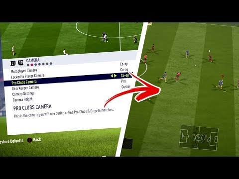 FIFA 18 - The BEST Camera Settings Trick/Tutorial! (How To Improve On FIFA 18 #1) 🔥🎮