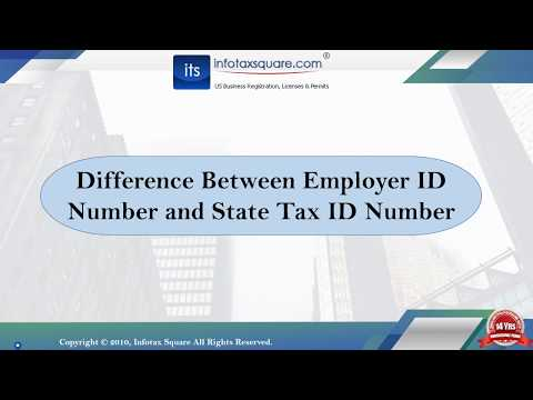 Difference Between Employer ID Number and State Tax ID Number