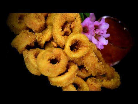 Chinese Deep Fried Crispy Squid (Chinese Style Recipe)