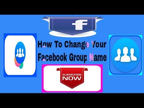 How to Change Your Facebook Group Name