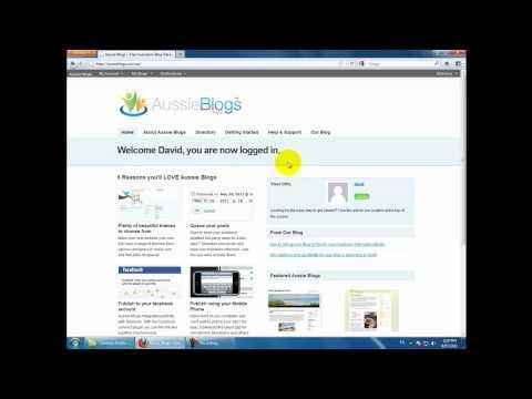 How Do I Create a Blog? - Using a Facebook Account