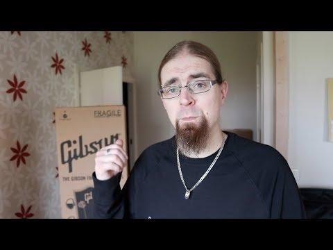 Gibson Les Paul Futura 2014 - Unboxing 2017