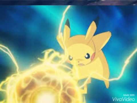 Ash's Partner Pikachu