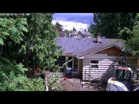 Cedar Siding Removal