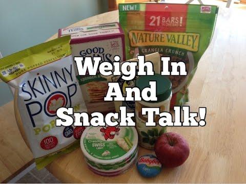 Weight Watchers SmartPoints Weigh In and Snack Talk!