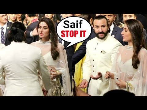 Xxx Mp4 Kareena Kapoor Gets ANGRY On Saif Ali Khan At Isha Ambani Wedding 3gp Sex