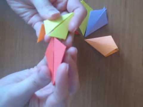 How to make origami magic circle