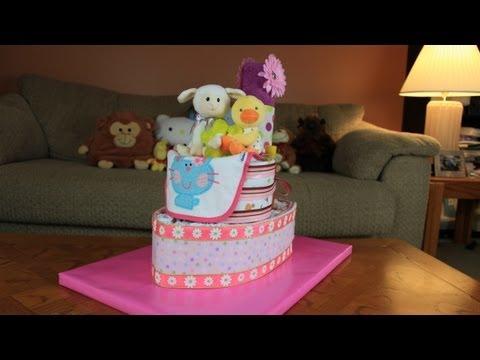 Tug Boat Diaper Cake (How To Make)