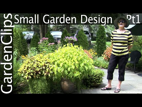 Small Garden Design Part 1 - Townhouse Front Yard Garden with Susan Harris