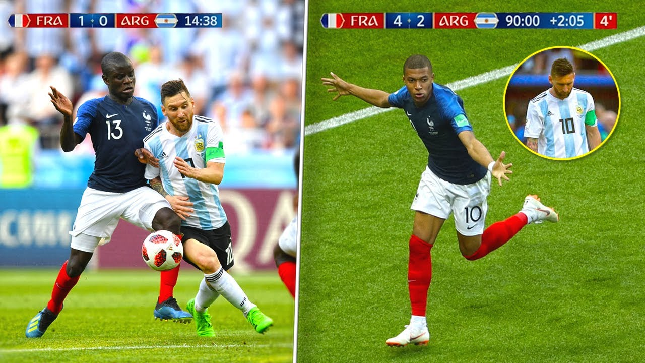 The Day Kante and Mbappe Destroyed Messi and Argentina