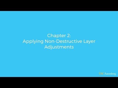 Module 3, Chapter 2: Applying Non-Destructive Layer Adjustments