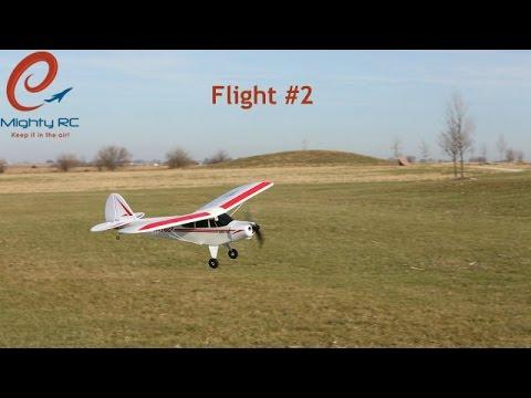 Super Cub S - RC Plane - Flight #2